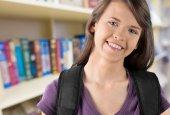 Nastolatek, Student, Uniwersytet. — Zdjęcie stockowe