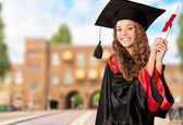 Graduation, Student, Education. — Stock Photo