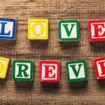 Love, grain, letterpress. — Stock Photo #73208181