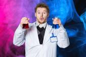 Chemistry, test, experiment. — Stock Photo