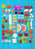 Candy, Isolated, Variation. — Stock Photo