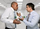 Arguing, Conflict, Business. — Stock Photo
