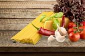 Pasta, Italian Culture, Tomato. — Stock Photo