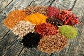 Spice, Condiment, Chili Pepper. — Stock Photo
