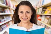 Teenage Girls, Teenager, Reading. — Stock Photo