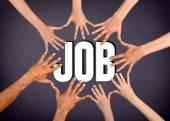 Job, Human Hand, Child. — Stock Photo