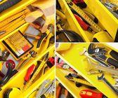 Toolbox, Drill, Work Tool. — Foto de Stock
