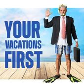 Your, vactions, first. — Stock Photo