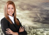 Vrouwen, zakenvrouw, Business. — Stockfoto