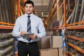 Business, retail, worker. — Stock Photo