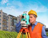 測量、建設、建築家. — ストック写真