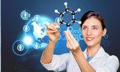 Laboratorium, chemie, Expertise. — Stockfoto