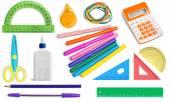 School Supplies, Education, Office Supply. — Stock Photo