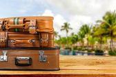 Seyahat, çanta, katı. — Stok fotoğraf