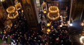 Vánoce v katedrále St. Volodymyr — Stock fotografie