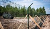 Russia-Ukraine border — Stock Photo