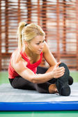 Pratica aerobica — Foto Stock