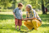 Grandparenting — Stock Photo