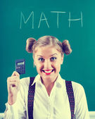 I love math — Stock Photo