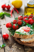 Healthy appetizer — Stock Photo