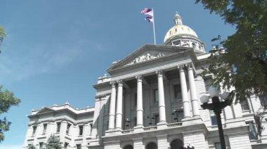 State Capital building in Denver — Stock Video