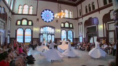 Dervishes perform a mystical dance — Stock Video
