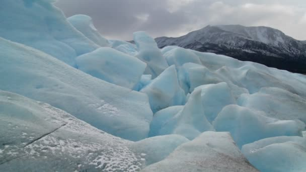 Glaciar en Cordillera — Vídeo de stock