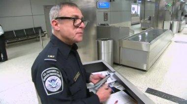 International airport terminal — Stock Video