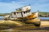 Old Fishing Boat in Northern California — Stock Photo