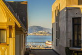 View of Alcatraz Island — Stock Photo