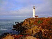 Lighthouse in Northern California — Stock Photo
