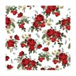 Floral pattern with red roses — Stock Vector #65836625