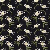 Floral pattern with chrysanthemum — Stok fotoğraf