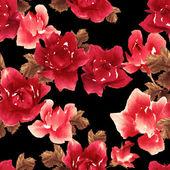 Modello acquerello con rose — Foto Stock