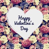 Decorative Valentine's Day card — Stock Photo