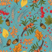 Herbst nahtlose muster — Stockvektor