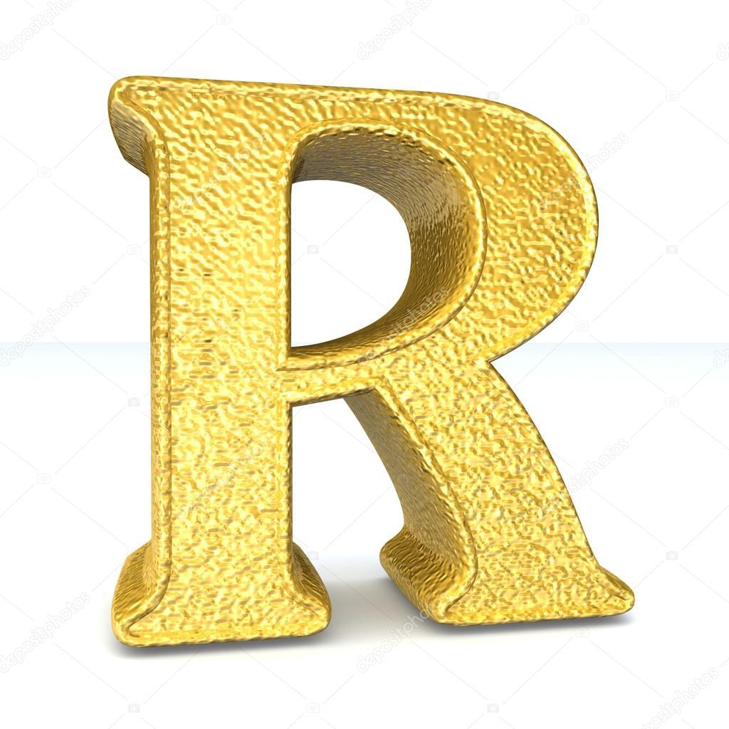 Single r alphabet letter stock photo c lovart 65441761 for Alphabet photo letters
