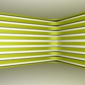 Yellow striped walls — Photo