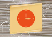 Watch Web icon — Stock Vector