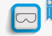Scuba mask icon — Stock Vector