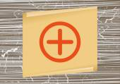 Znaménko plus přidat ikony — Stock vektor