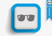 Sunglasses web icon — Stock Vector