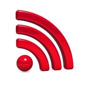 Radiowellen-zeichen — Stockfoto