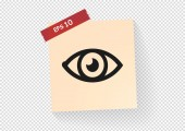 Web 的眼睛图标 — 图库矢量图片
