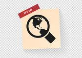 Search web icon — Stock Vector