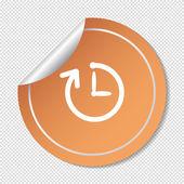 Watch Web icon — Stock Vector
