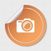 Web camera icon — Stock Vector