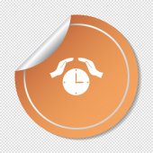Clock web icon — Stock Vector