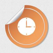 Watch Web icon. — Stock Vector