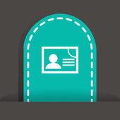 Document web icon — Wektor stockowy